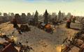 Построенный игроками городец на орденских землях