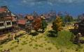 Построенный игроками крепость во орденских землях