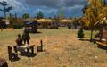 Деревня на Старой Флавии