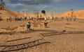 Крушители приближаются для вражескому лагерю