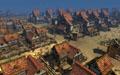 Построенный игроками град на орденских землях